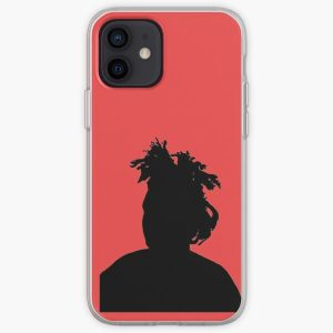 the weeknd silhouette iPhone Soft Case RB3006 product Offical Mac Miller Merch