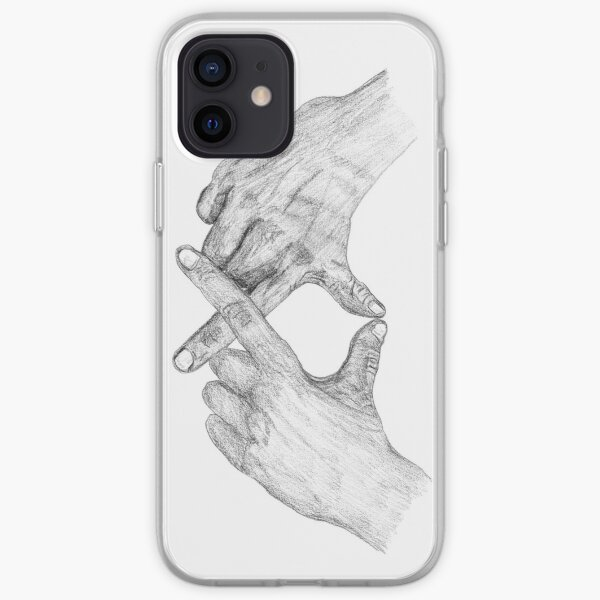XO Weeknd Hand Sign  iPhone Soft Case RB3006 product Offical Mac Miller Merch