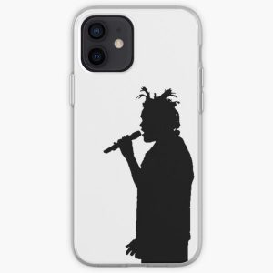 The Weeknd Concert Silhouette iPhone Soft Case RB3006 product Offical Mac Miller Merch