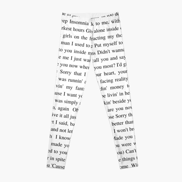 After Hours - The Weeknd Leggings RB3006 product Offical Mac Miller Merch