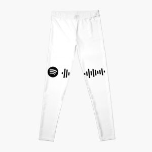 Blinding Lights - The Weeknd (Spotify Code) Leggings RB3006 product Offical Mac Miller Merch