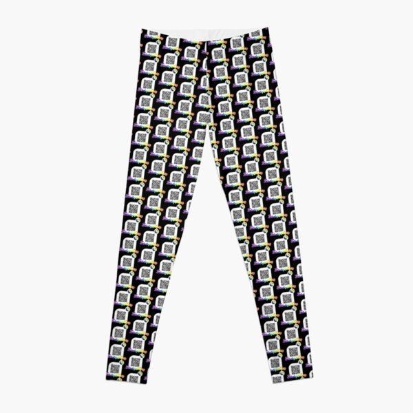 Blinding Lights, The weeknd - spotify qr code - rainbow style Leggings RB3006 product Offical Mac Miller Merch