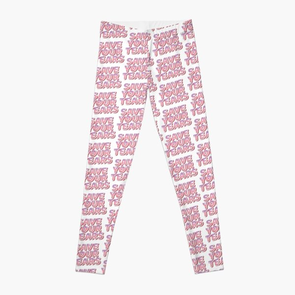 Copy of Save your tears stickers pack Leggings RB3006 product Offical Mac Miller Merch