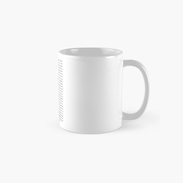 Wanderlust - The Weeknd Classic Mug RB3006 product Offical Mac Miller Merch