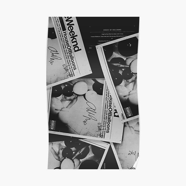 The Weeknd House of Balloons Poster RB3006 product Offical Mac Miller Merch