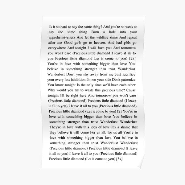 Wanderlust - The Weeknd Poster RB3006 product Offical Mac Miller Merch