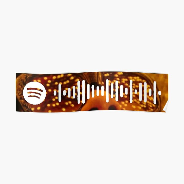 After Hours Album Art Spotify Code Weeknd Poster RB3006 product Offical Mac Miller Merch
