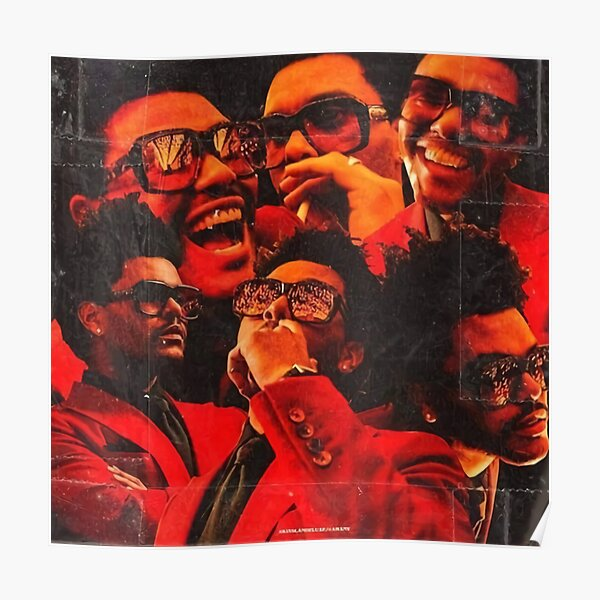Collage Weeknds Swag Poster RB3006 product Offical Mac Miller Merch