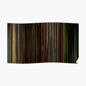 The Weeknd - Blinding Lights   Music Video Barcode Poster RB3006 product Offical Mac Miller Merch
