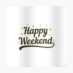 Happy Weekend Happy Friday! Let the weekend begin The Best Weeknd Poster RB3006 product Offical Mac Miller Merch