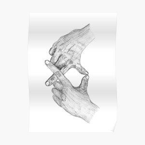 XO Weeknd Hand Sign  Poster RB3006 product Offical Mac Miller Merch