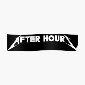 After Hours Poster RB3006 product Offical Mac Miller Merch