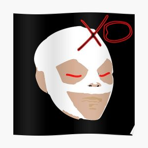 The Weeknd Mask Poster RB3006 product Offical Mac Miller Merch