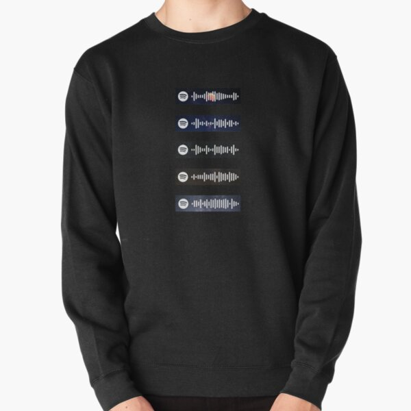 The Weeknd - Spotify Scan Codes Pullover Sweatshirt RB3006 product Offical Mac Miller Merch