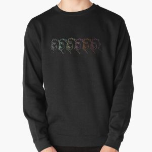 the weeknd silhouette illustration Pullover Sweatshirt RB3006 product Offical Mac Miller Merch
