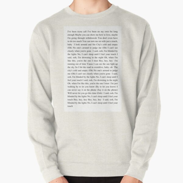 Blinding Lights - The Weeknd Pullover Sweatshirt RB3006 product Offical Mac Miller Merch