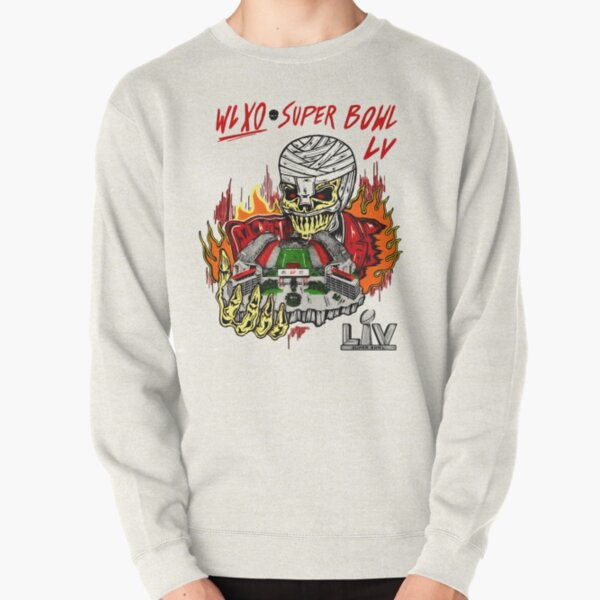 The Weeknd Super Bowl LV Halftime Show Art Pullover Sweatshirt RB3006 product Offical Mac Miller Merch