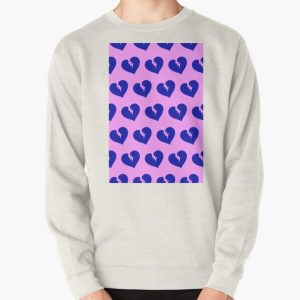 Blue Heartless Pattern Pullover Sweatshirt RB3006 product Offical Mac Miller Merch