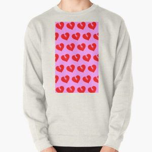 Red Heartless Pattern Pullover Sweatshirt RB3006 product Offical Mac Miller Merch