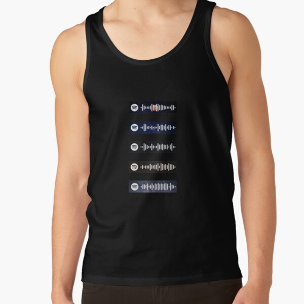The Weeknd - Spotify Scan Codes Tank Top RB3006 product Offical Mac Miller Merch