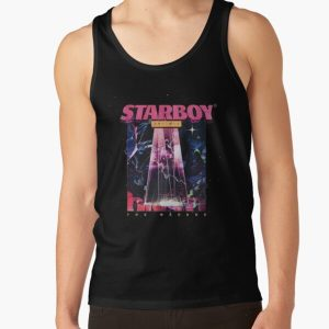 The weeknd Starboy t-shirt Tank Top RB3006 product Offical Mac Miller Merch