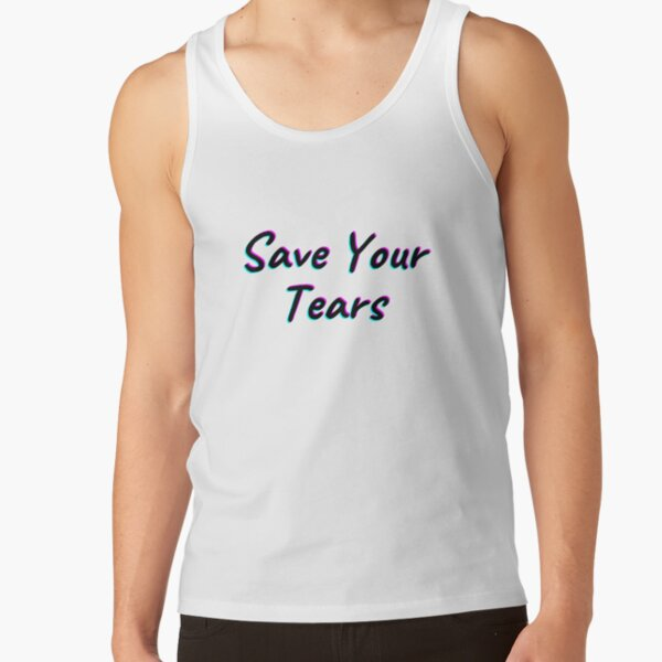 The Weeknd Save Your Tears Tank Top RB3006 product Offical Mac Miller Merch