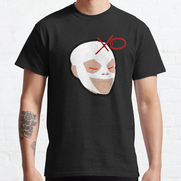 The Weeknd Mask Classic T-Shirt RB3006 product Offical Mac Miller Merch