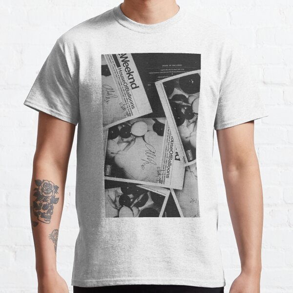 The Weeknd House of Balloons Classic T-Shirt RB3006 product Offical Mac Miller Merch