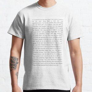 Wanderlust - The Weeknd Classic T-Shirt RB3006 product Offical Mac Miller Merch