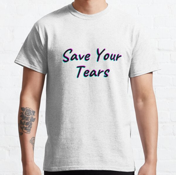 The Weeknd Save Your Tears Classic T-Shirt RB3006 product Offical Mac Miller Merch
