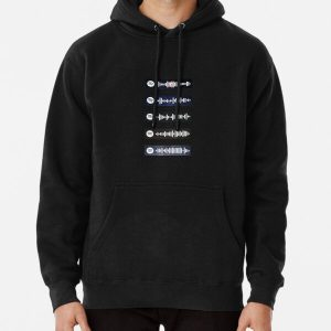 The Weeknd - Spotify Scan Codes Pullover Hoodie RB3006 product Offical Mac Miller Merch