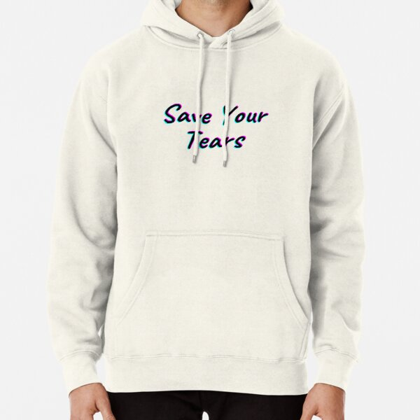 The Weeknd Save Your Tears Pullover Hoodie RB3006 product Offical Mac Miller Merch