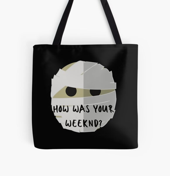 How was your Weeknd?  Why? All Over Print Tote Bag RB3006 product Offical Mac Miller Merch