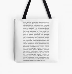 Wanderlust - The Weeknd All Over Print Tote Bag RB3006 product Offical Mac Miller Merch