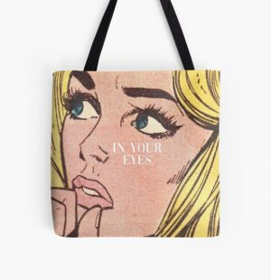 the weeknd in your eyes All Over Print Tote Bag RB3006 product Offical Mac Miller Merch