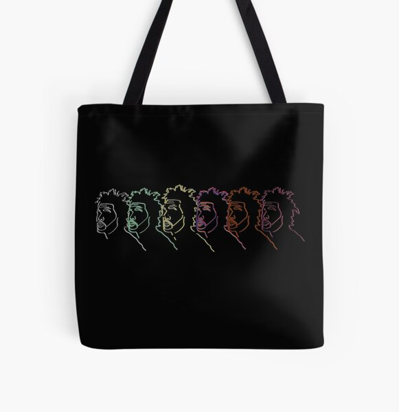 the weeknd silhouette illustration All Over Print Tote Bag RB3006 product Offical Mac Miller Merch