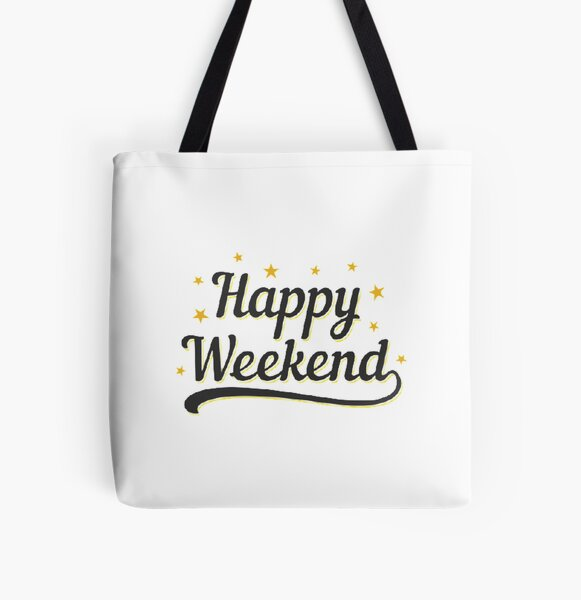 Happy Weekend Happy Friday! Let the weekend begin The Best Weeknd All Over Print Tote Bag RB3006 product Offical Mac Miller Merch