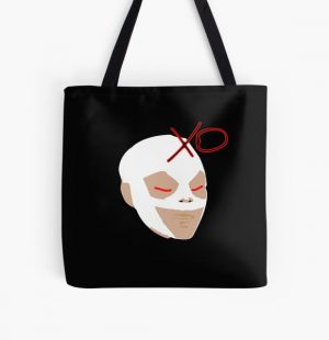 The Weeknd Mask All Over Print Tote Bag RB3006 product Offical Mac Miller Merch