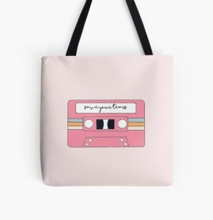 The Weeknd & Ariana Grande – Save Your Tears All Over Print Tote Bag RB3006 product Offical Mac Miller Merch