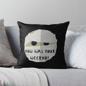How was your Weeknd?  Why? Throw Pillow RB3006 product Offical Mac Miller Merch