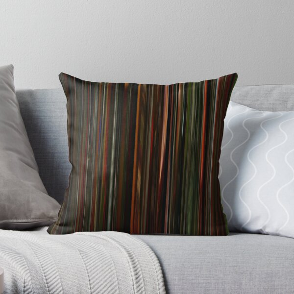 The Weeknd - Blinding Lights | Music Video Barcode Throw Pillow RB3006 product Offical Mac Miller Merch