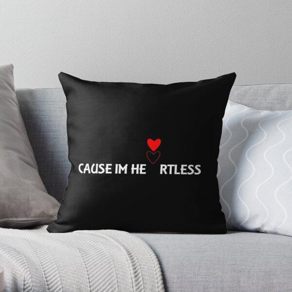 Cause Im Heartless Ryu4hd Throw Pillow RB3006 product Offical Mac Miller Merch