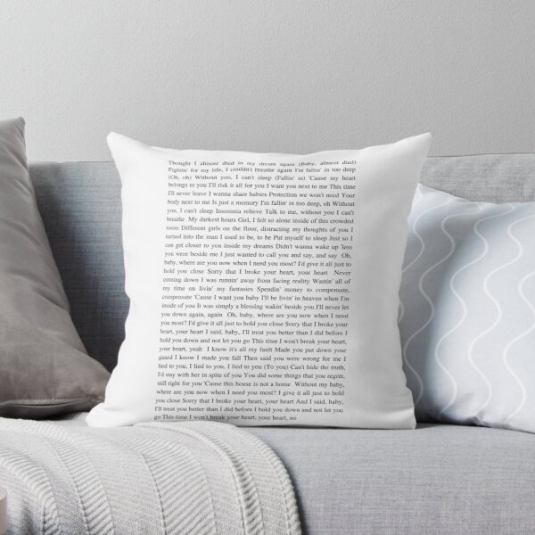 After Hours - The Weeknd Throw Pillow RB3006 product Offical Mac Miller Merch