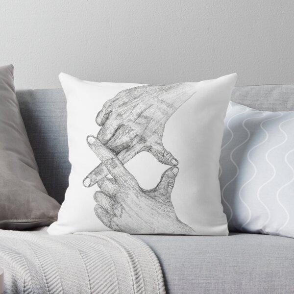 XO Weeknd Hand Sign  Throw Pillow RB3006 product Offical Mac Miller Merch