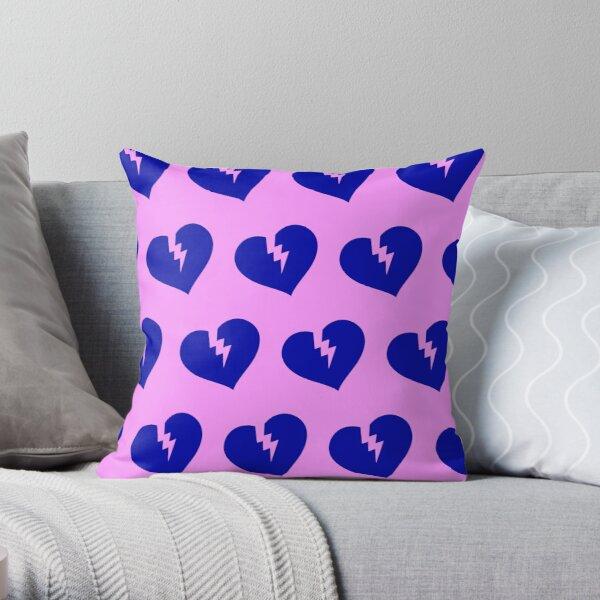 Blue Heartless Pattern Throw Pillow RB3006 product Offical Mac Miller Merch