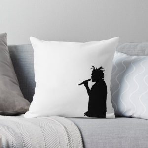 The Weeknd Concert Silhouette Throw Pillow RB3006 product Offical Mac Miller Merch