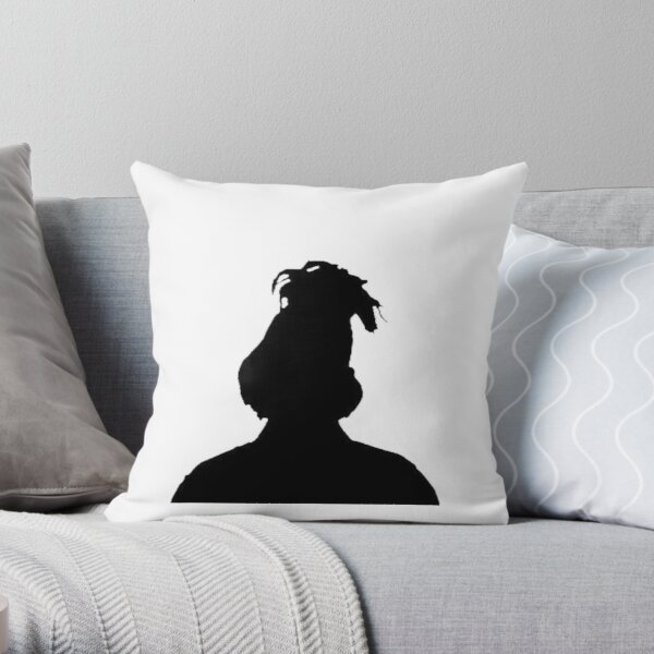 The Weeknd's shadow Throw Pillow RB3006 product Offical Mac Miller Merch