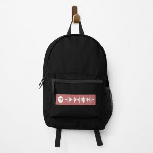 Blinding Lights - The Weeknd Spotify Code Backpack RB3006 product Offical Mac Miller Merch
