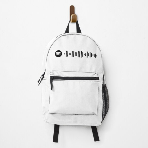 Blinding Lights - The Weeknd (Spotify Code) Backpack RB3006 product Offical Mac Miller Merch