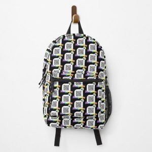 Blinding Lights, The weeknd - spotify qr code - rainbow style Backpack RB3006 product Offical Mac Miller Merch